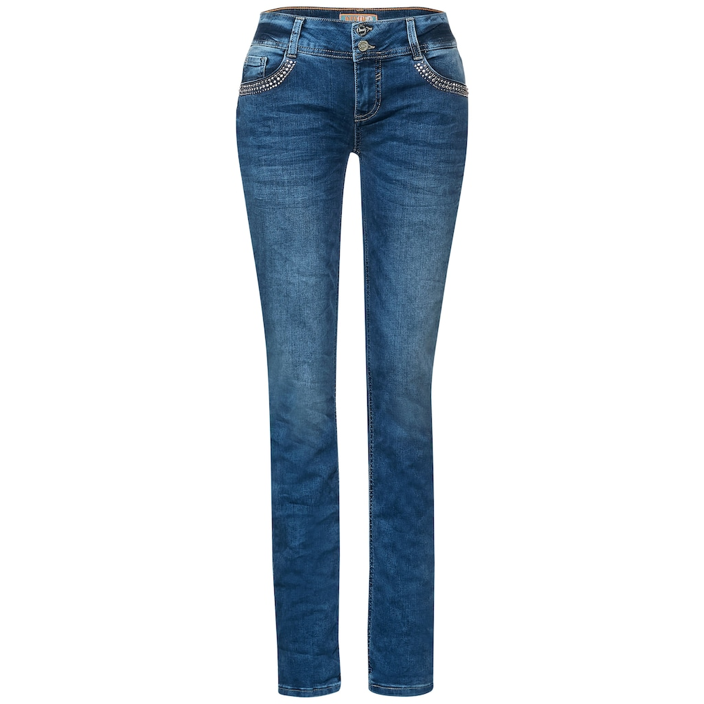 STREET ONE Loose-fit-Jeans, 5-Pockets Style