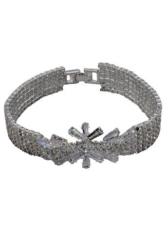 J.Jayz Armband »elegant, glamourös«, mit Glassteinen kaufen