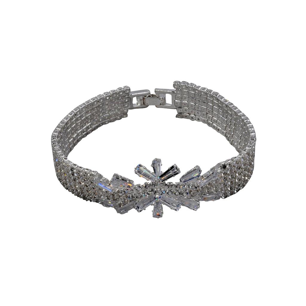J.Jayz Armband »elegant, glamourös«, mit Glassteinen