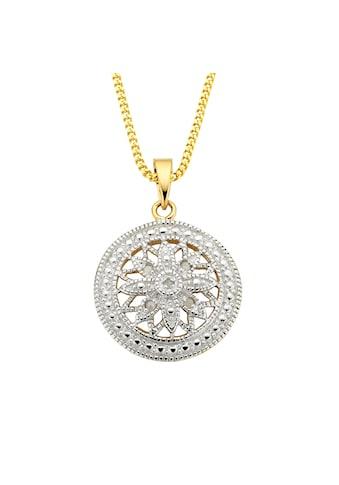 Diamonds by Ellen K. Anhänger mit Kette »925/ -  Sterling Silber Diamant 0,05ct.« kaufen