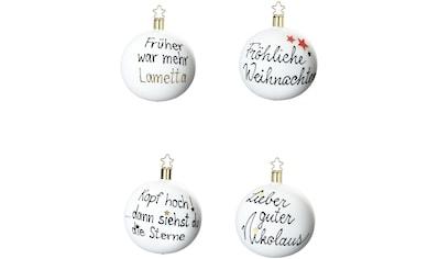 INGE - GLAS® Weihnachtsbaumkugel kaufen