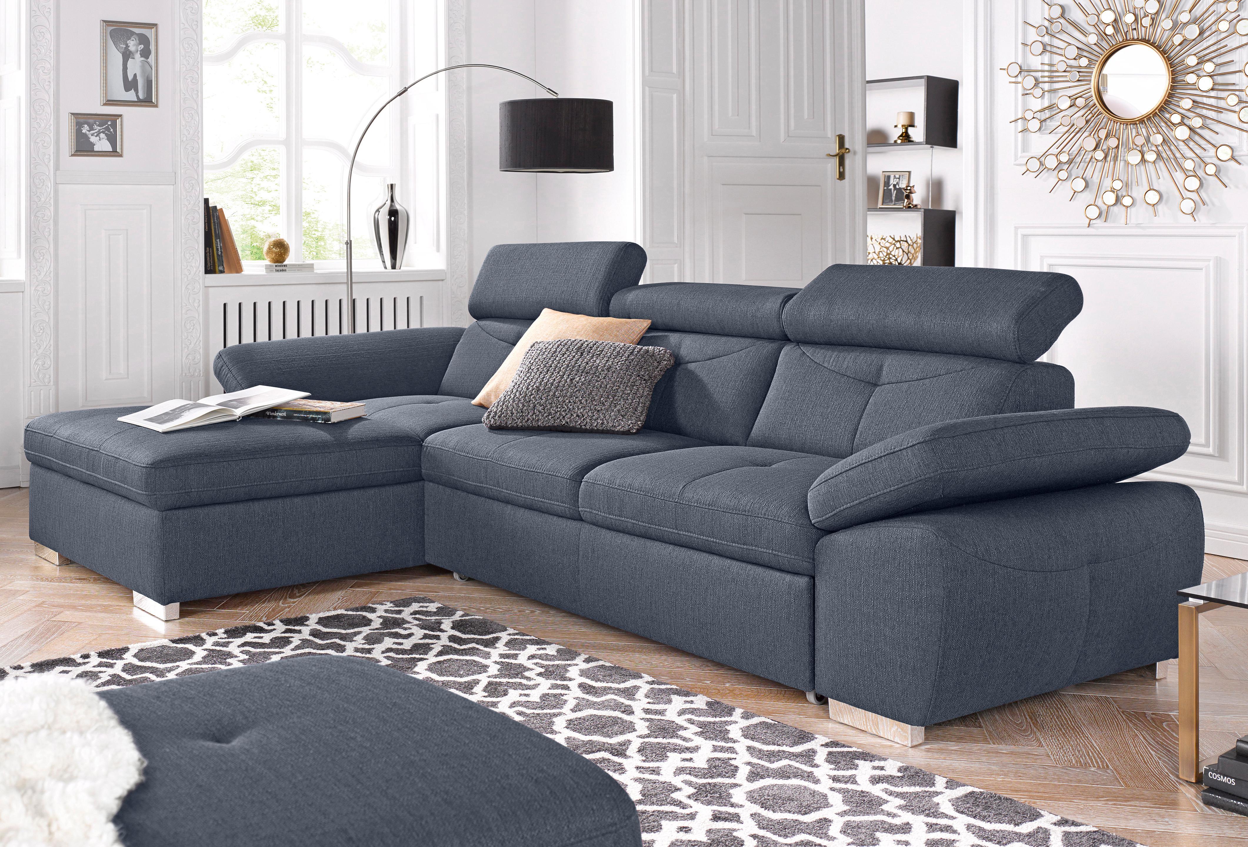 exxpo - sofa fashion Polsterecke, wahlweise mit Bettfunktion   Wohnzimmer > Sofas & Couches > Ecksofas & Eckcouches   Microfaser - Kunstleder   EXXPO SOFA FASHION