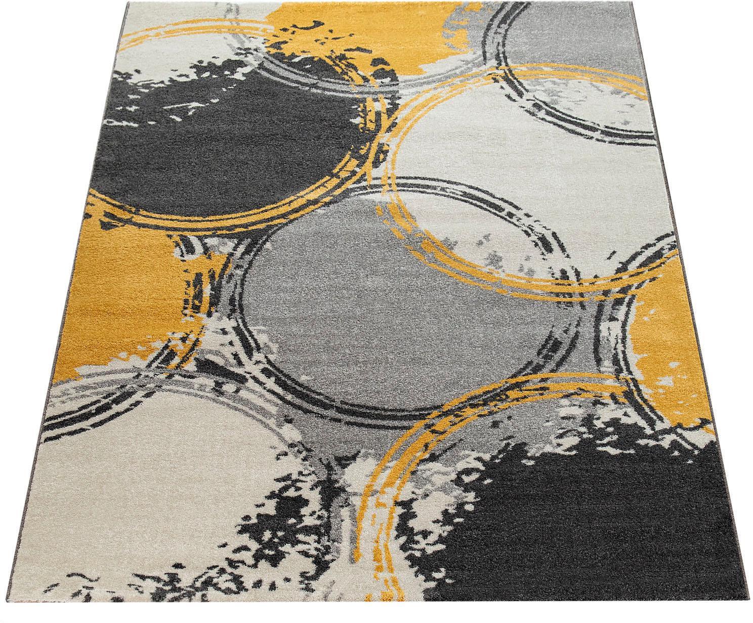 Teppich Pattern 129 Paco Home rechteckig Höhe 18 mm maschinell gewebt