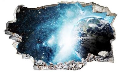 Wall-Art Wandtattoo »Weltraum Sticker 3D Galaxie« kaufen