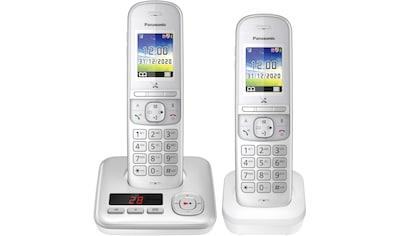 Panasonic »KX - TGH722 Duo« Schnurloses DECT - Telefon (Mobilteile: 2) kaufen