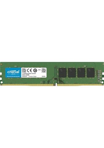 Crucial »DDR4 8GB PC 2666 retail single rank« PC - Arbeitsspeicher kaufen