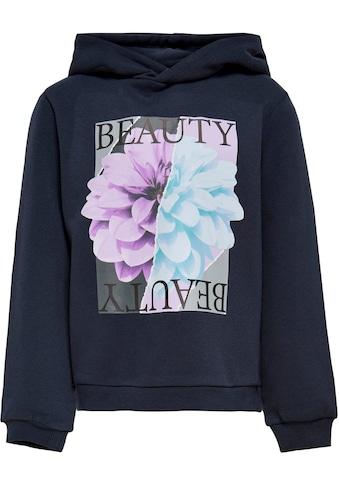 KIDS ONLY Kapuzenshirt »KONMELIA«, mit modischem Blumendruck kaufen