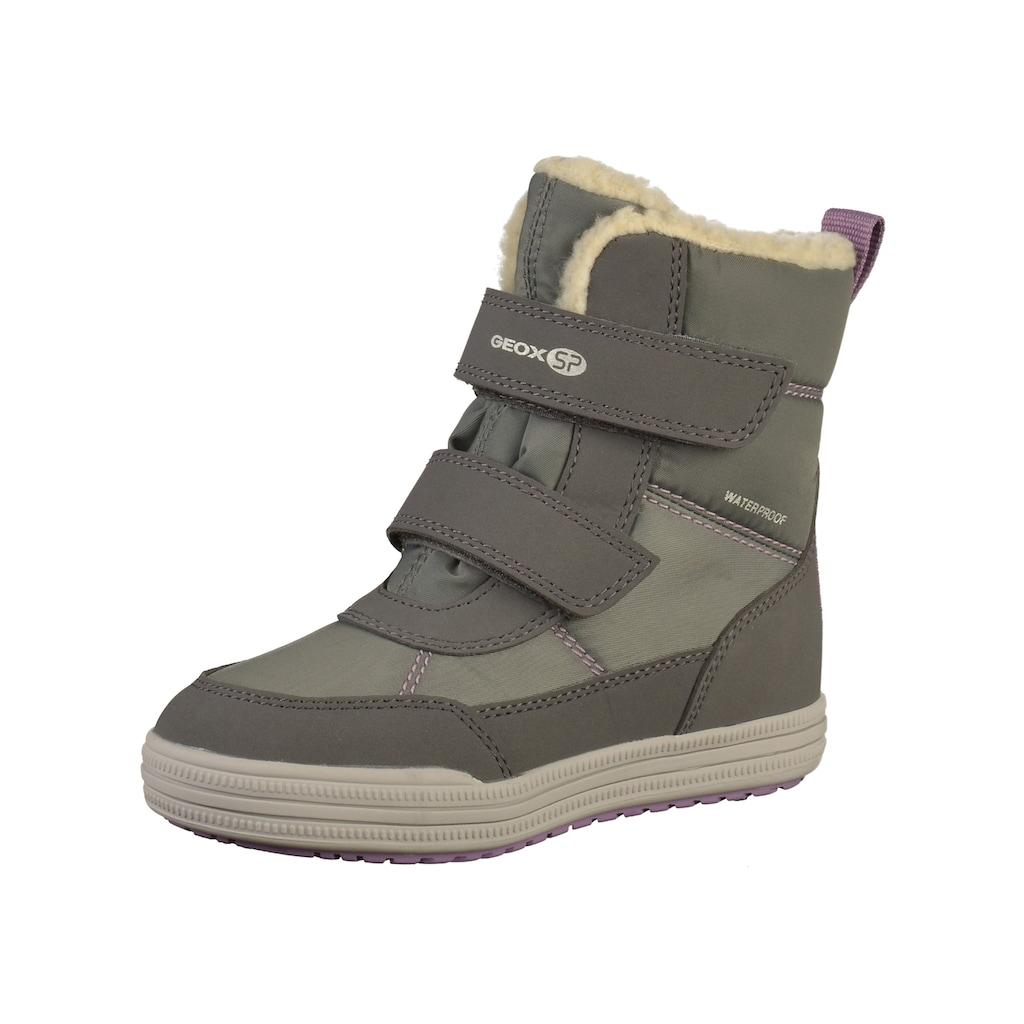 Geox Stiefel »Lederimitat/Textil«