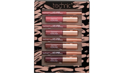 "technic Lipgloss - Set ""Lip Colours & Liners Set"", 8 - tlg. kaufen"