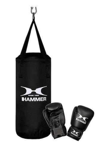 Hammer Boxsack »Junior« (Set, 2 - tlg., mit Boxhandschuhen) kaufen