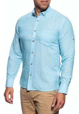 Dust Langarmhemd, mit tailliertem Slim Fit kaufen