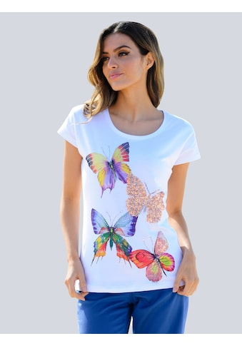 Alba Moda Strandshirt, mit Glitzer kaufen