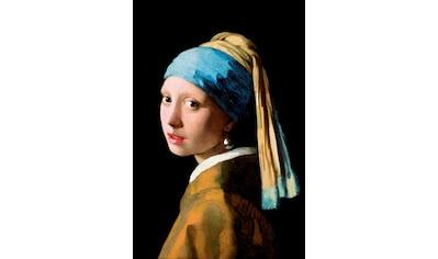Reinders! Deco-Panel »J.Vermeer-Mädchen mit Ohrgehänge«, 60/90 cm kaufen