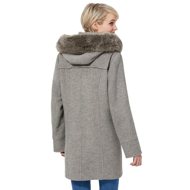 Wega Fashion Dufflecoat mit Kapuze