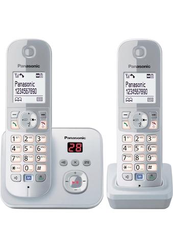 Panasonic »KX - TG6822G« Schnurloses DECT - Telefon (Mobilteile: 2) kaufen