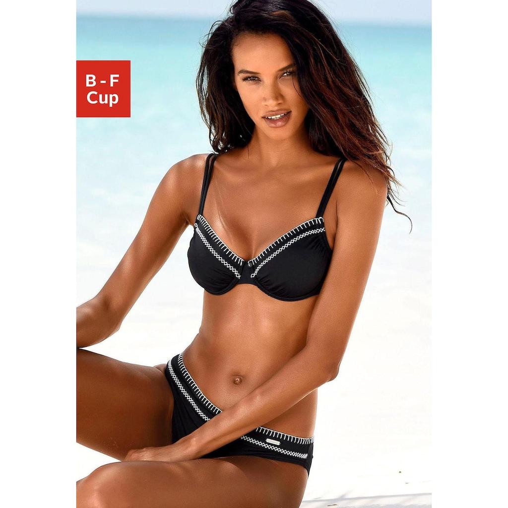 Sunseeker Bügel-Bikini-Top »Dainty«, mit Häkelkante