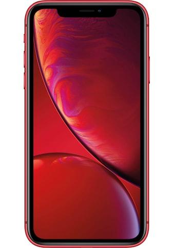 """Apple Smartphone »iPhone XR 64GB«, (15,49 cm/6,1 """" 64 GB Speicherplatz, 12 MP Kamera), ohne Strom-Adapter und Kopfhörer kaufen"""