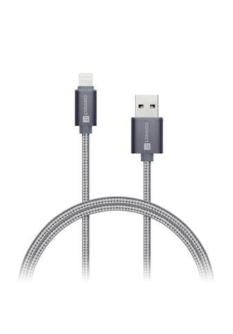 Connect IT Kabel »IT PREMIUM Metallic Lightning Lade/Sync - Kabel 1m s« kaufen