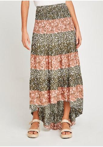 Apricot Maxirock »Mix And Match Ditsy Print Skirt«, mit Smokbund kaufen