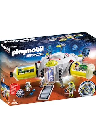 Playmobil® Konstruktions-Spielset »Mars-Station (9487), Space«, mit Licht- und... kaufen