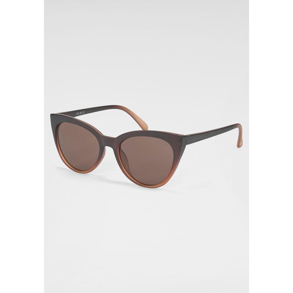 catwalk Eyewear Sonnenbrille, Retro-Look, Leichte Cat-Eye Optik