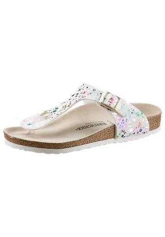Birkenstock Zehentrenner »Gizeh Inspired«, mit ergonomisch geformtem Fußbett kaufen