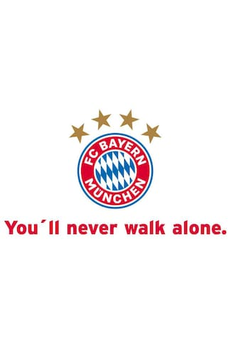 Wall-Art Wandtattoo »Fußball You'll never walk alone« kaufen