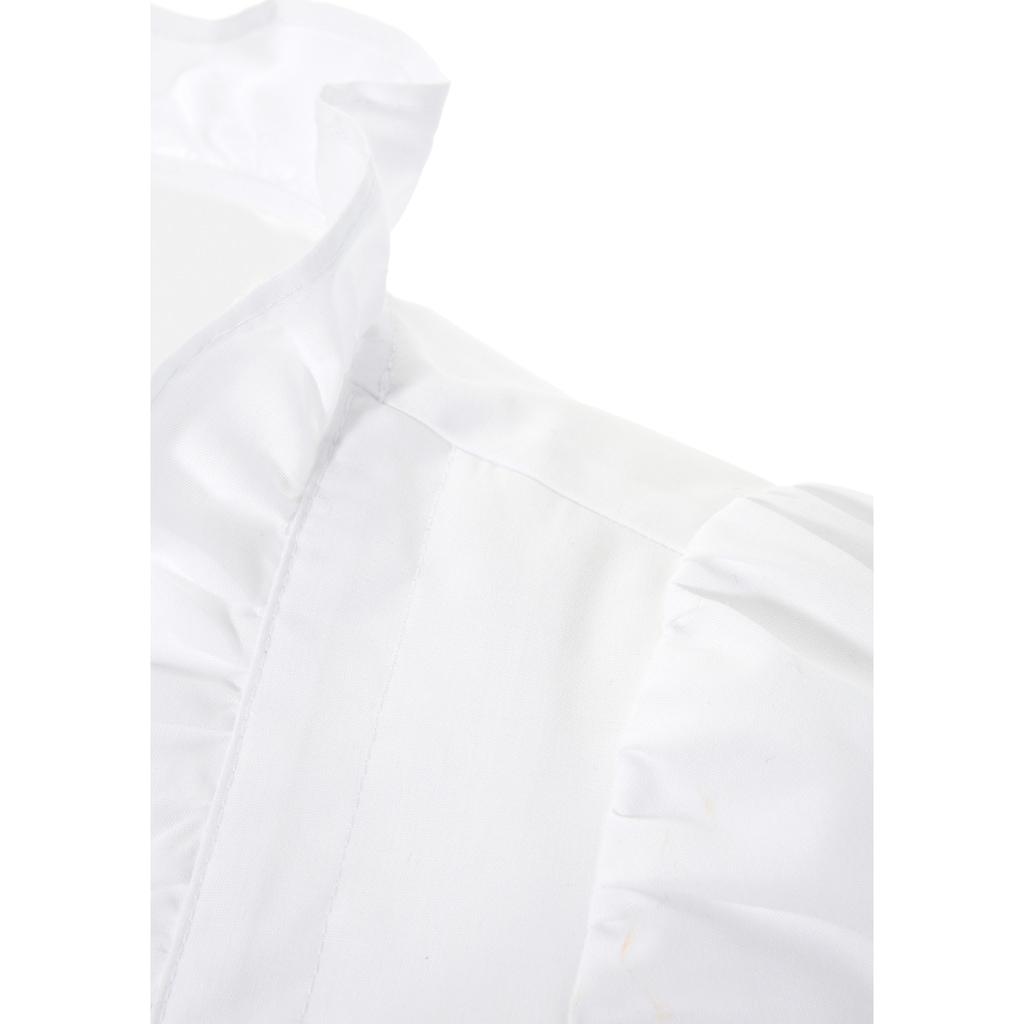 Naber Collection Dirndlbluse, mit seitlicher Raffung