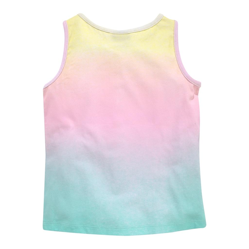KIDSWORLD Top & Shorts, in buntem Farbverlauf