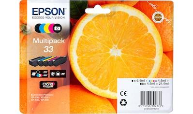Epson Tintenpatrone »Origal Multipack 5-colours 33 Claria Premium Ink  : C13T33374021« kaufen