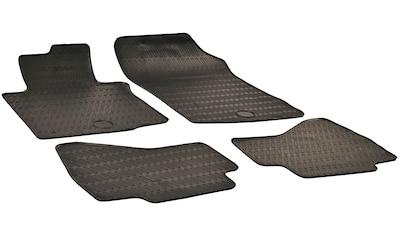 WALSER Passform-Fußmatten, Citroen-Peugeot-Toyota, 107-108-Aygo-C1, Schrägheck, (4... kaufen