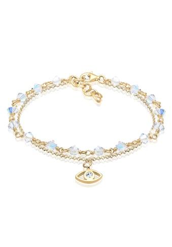 Elli Armband »Evil Eye Talisman Swarovski® Kristalle 925 Silber« kaufen