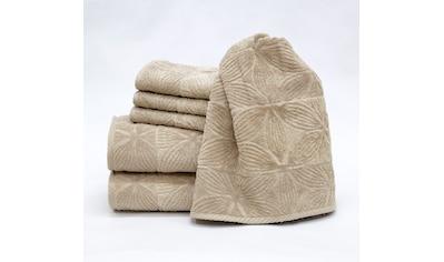 Handtuch Set, »Agatha 6 - teilig«, Döhler kaufen