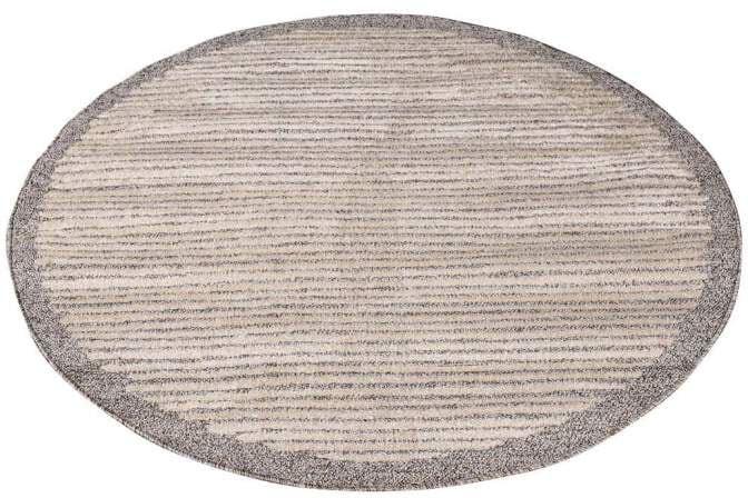 Carpet City Teppich Art 2231, rund, 7 mm Höhe braun Esszimmerteppiche Teppiche nach Räumen