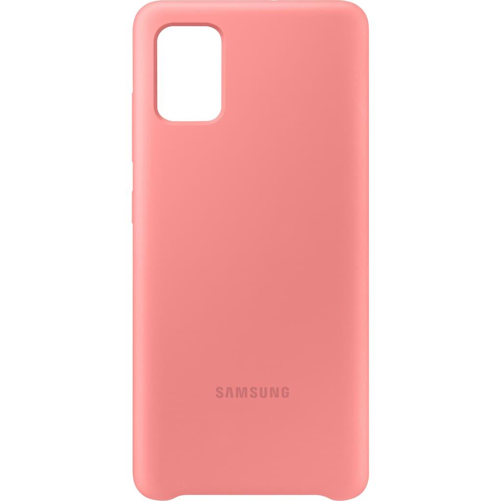 Samsung Smartphone-Hülle »EF-PA515 Silicone Cover für Galaxy A51«, Galaxy A51