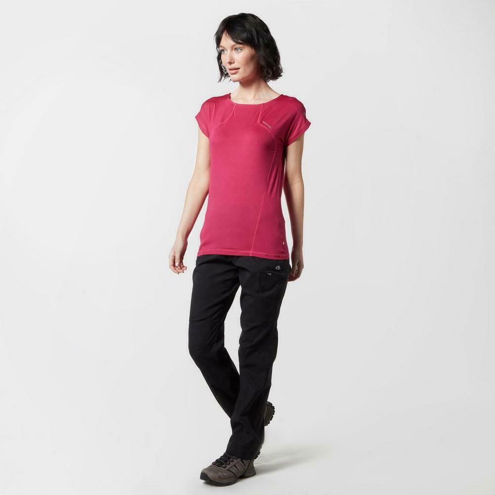 Craghoppers T-Shirt Damen Kurzarm- Fusion