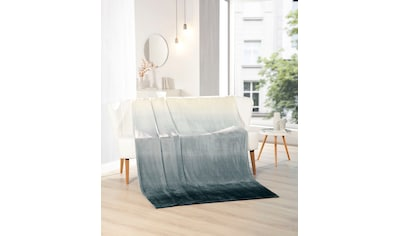Gözze Wohndecke »Memphis Premium Rainbow«, mit bedrucktem Rainbow-Farbverlauf kaufen