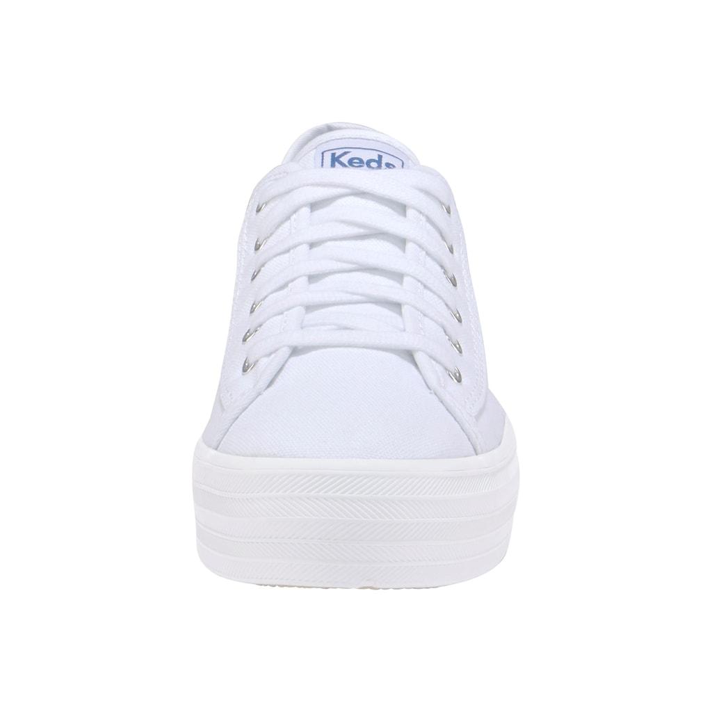 Keds Sneaker »Triple Kick Canvas«