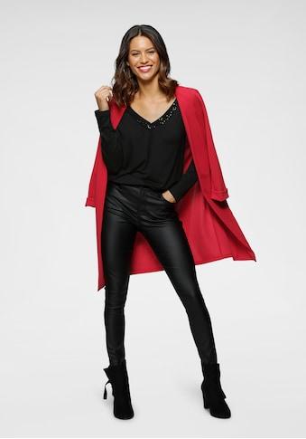 Laura Scott V-Shirt, mit Pailletten-Detail - NEUE KOLLEKTION kaufen