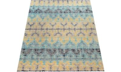 Paco Home Teppich »Artigo 417«, rechteckig, 4 mm Höhe, Vintage Design, In- und Outdoor geeignet, Wohnzimmer kaufen