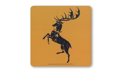 LOGOSHIRT Untersetzer mit Hirsch Baratheon-Print kaufen