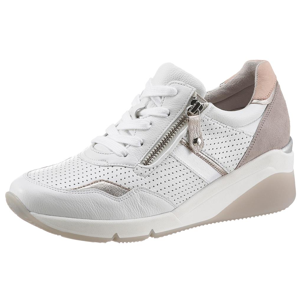 Gabor Keilsneaker »ATHEN«, mit Perforierung