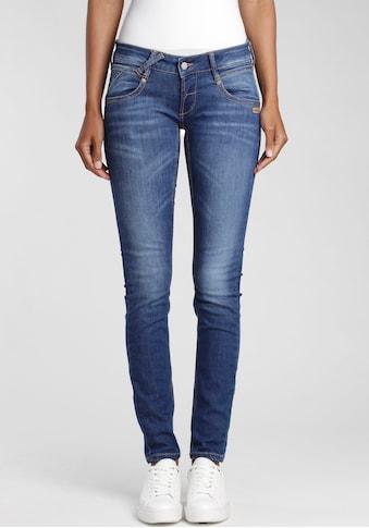 GANG Skinny-fit-Jeans »Nena«, mit coolen Used-Effekten kaufen