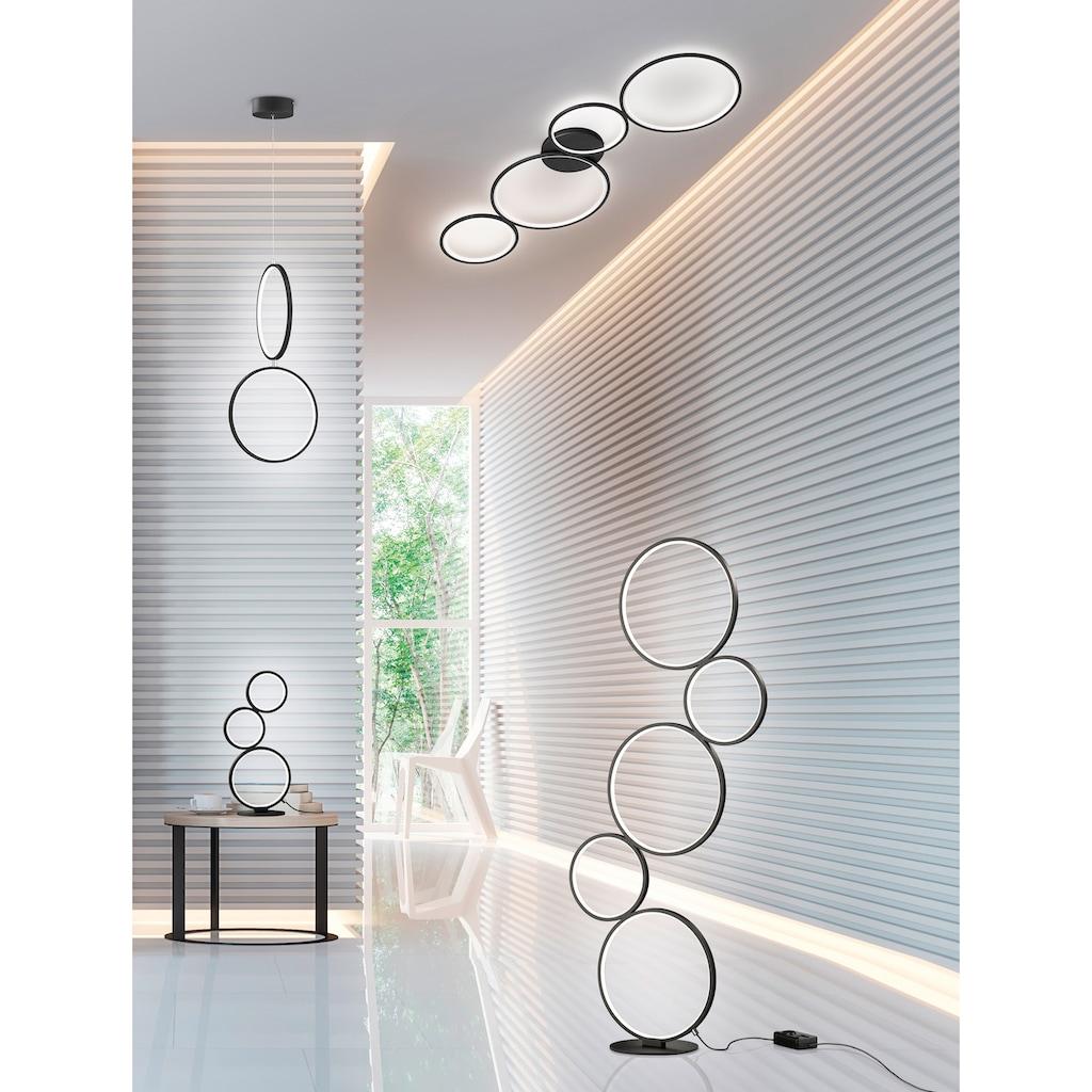 TRIO Leuchten LED Stehlampe »Rondo«, LED-Board, Warmweiß, integrierter Dimmer