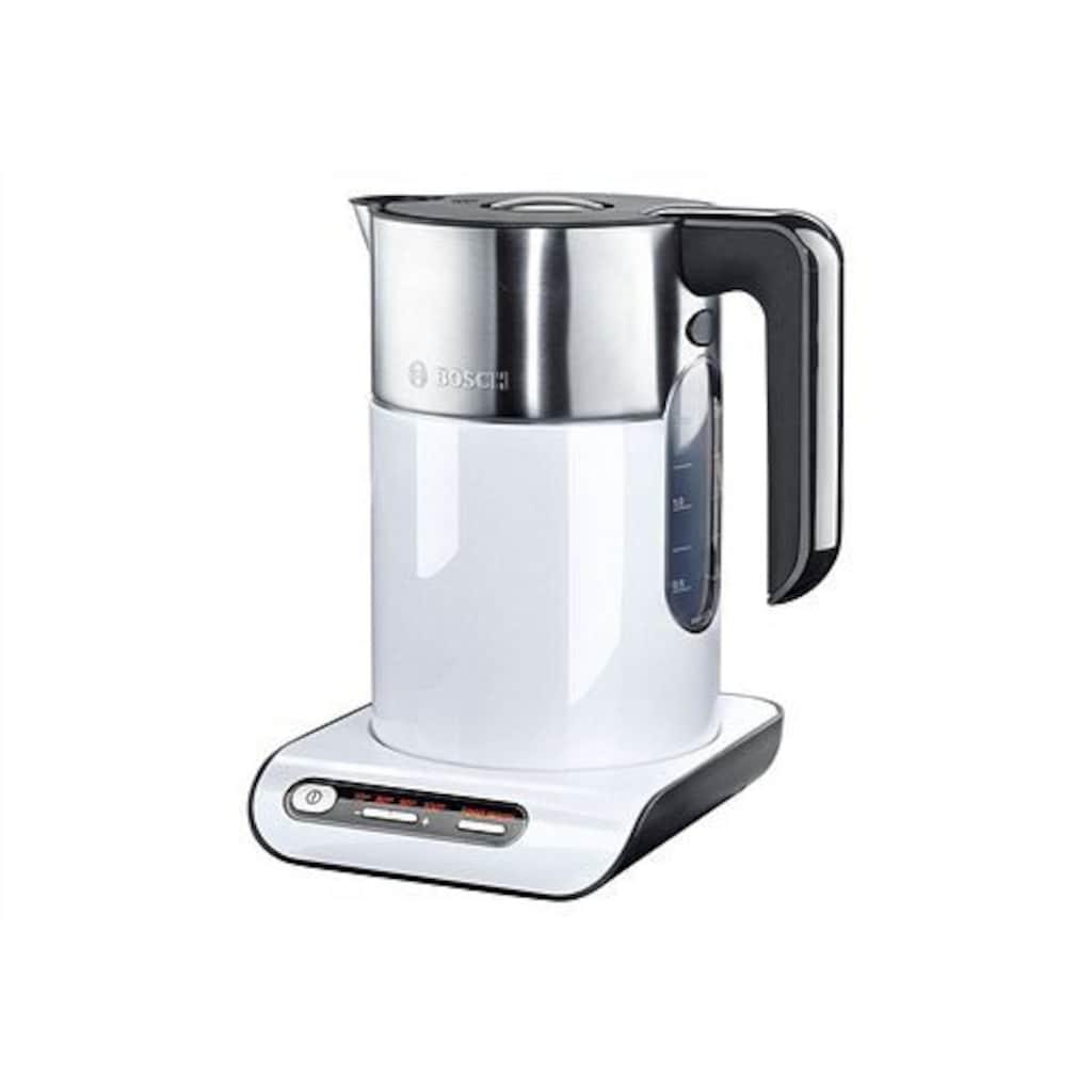 BOSCH Wasserkocher »Styline TWK8611P«, 1,5 l, 2400 W