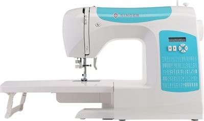 Singer Computer - Nähmaschine C5205 Türkis, 60 Nähprogramme kaufen