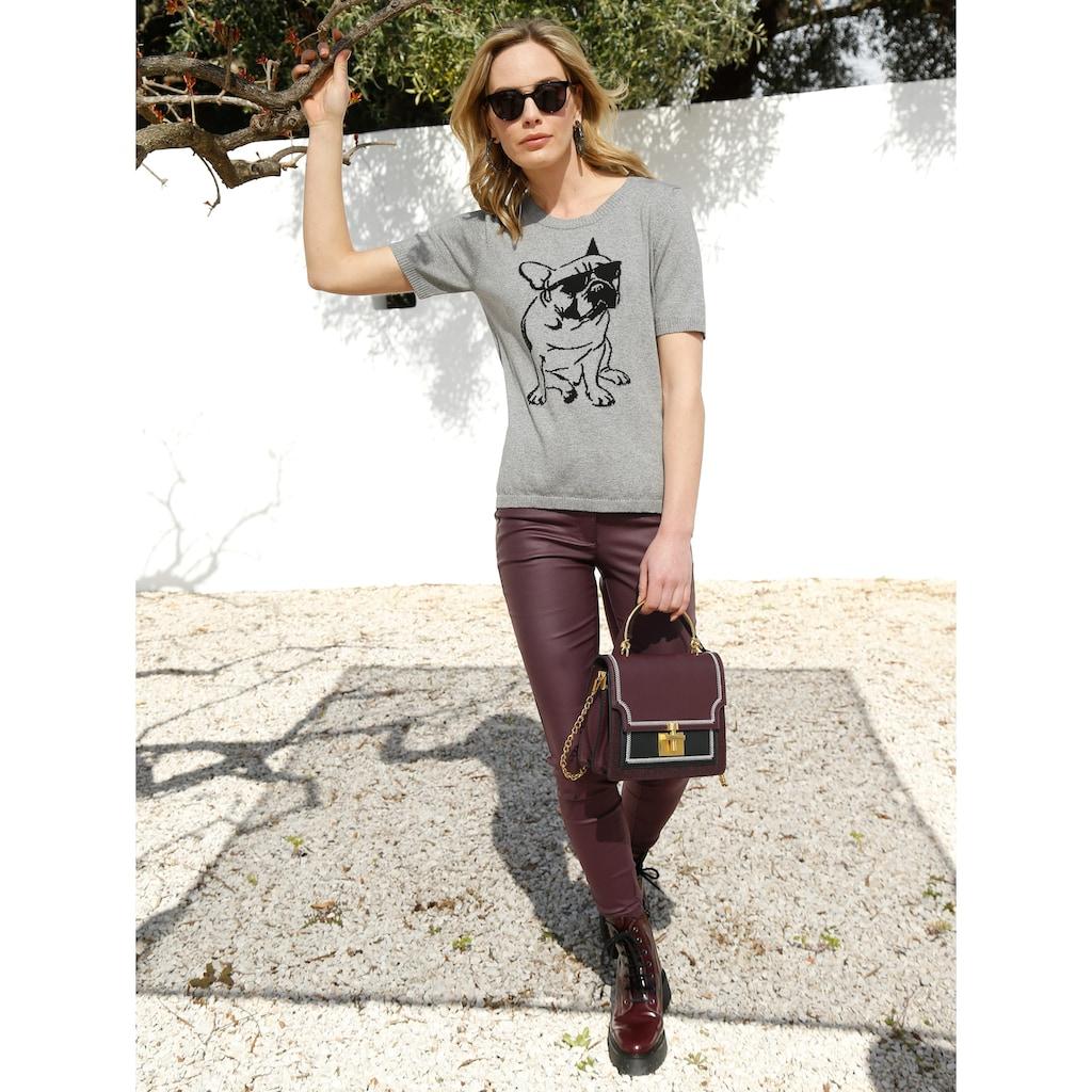 Amy Vermont 5-Pocket-Hose, mit Beschichtung