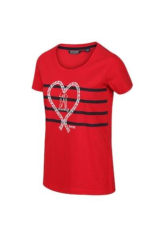 Regatta T-Shirt »Damen Filandra IV mit Grafik-Druck, kurzärmlig« kaufen