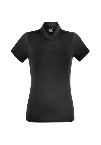 Fruit of the Loom Poloshirt »Damen Kurzarm Polo-Shirt« kaufen