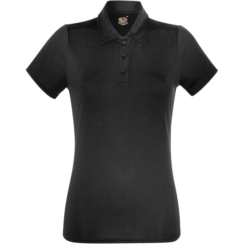 Fruit of the Loom Poloshirt »Damen Kurzarm Polo-Shirt«